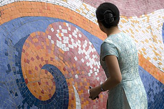 largest ceramic mosaic to be unveiled